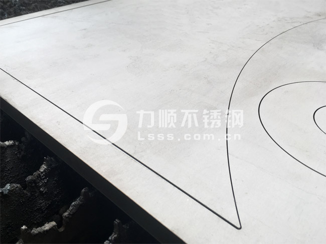 不锈钢厚板切割_S30408_20mm厚