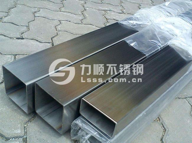 304不锈钢管_表面拉丝方管