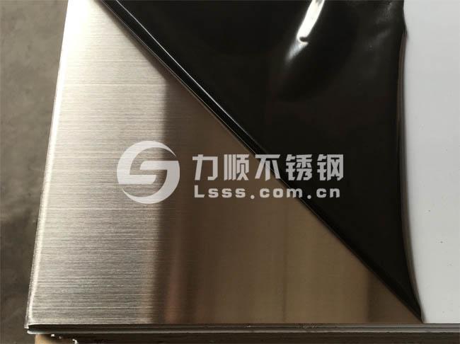 304不锈钢拉丝板_1mm厚