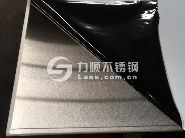 304不锈钢拉丝板_6毫米厚