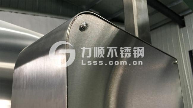 力顺不锈钢拉丝板,配套钣金制造业