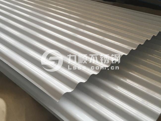 不锈钢压型板_不锈钢瓦_不锈钢波浪板_0.8mm厚